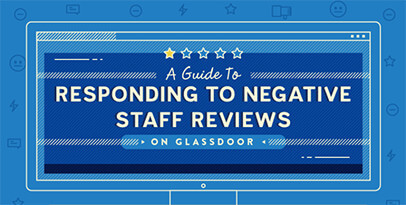 A Guide To Responding To Negative Staff Reviews On Glassdoor blog post